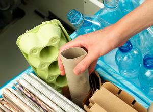 Separe o lixo e contribua para a coleta seletiva da sua cidade