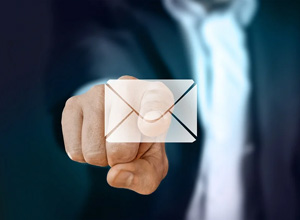 Mensagem para e-mail corporativo pode ser usada como prova