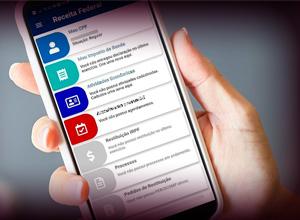 Receita Federal oferece vários serviços em um único aplicativo
